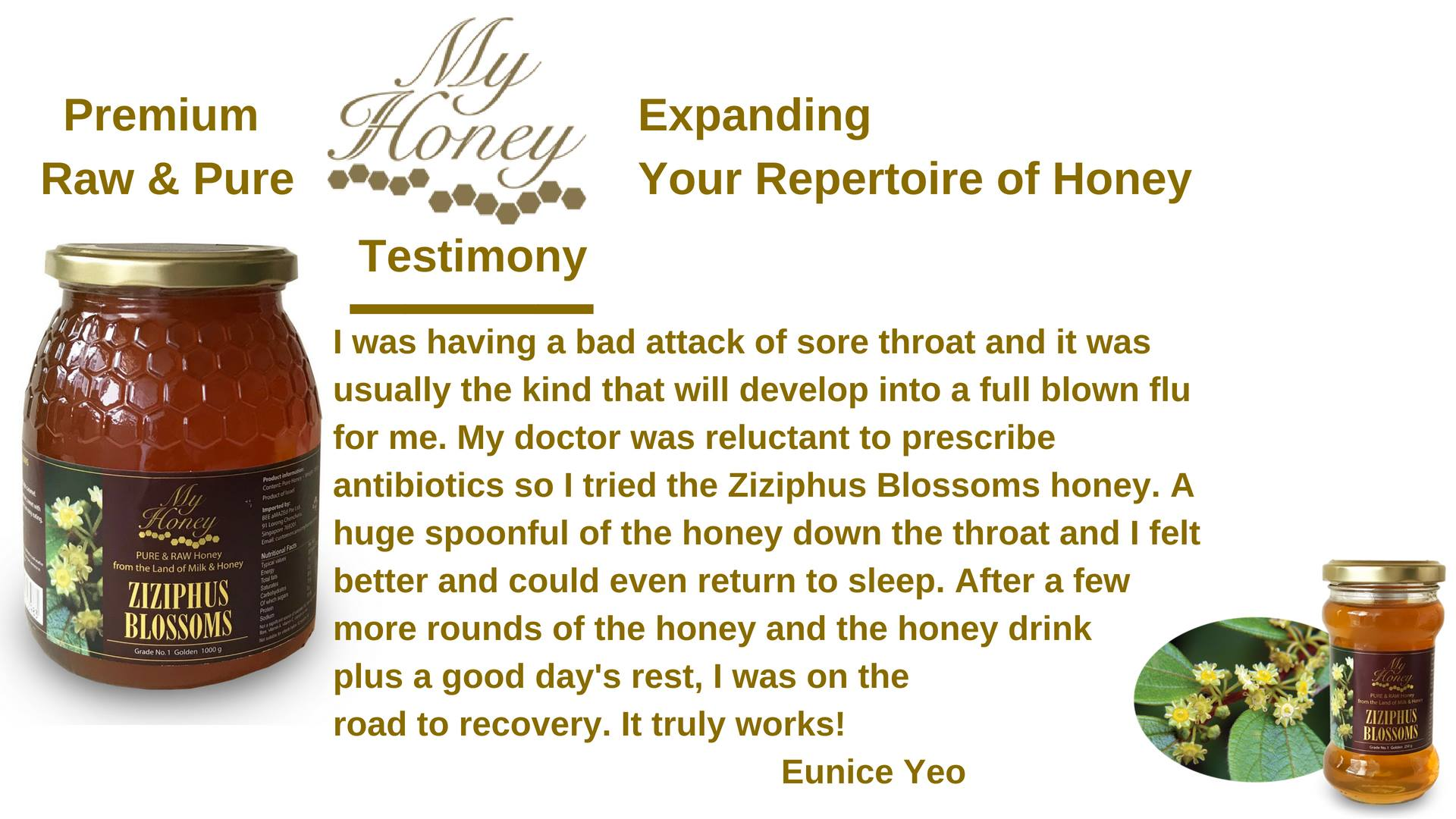 myhoney testimonial
