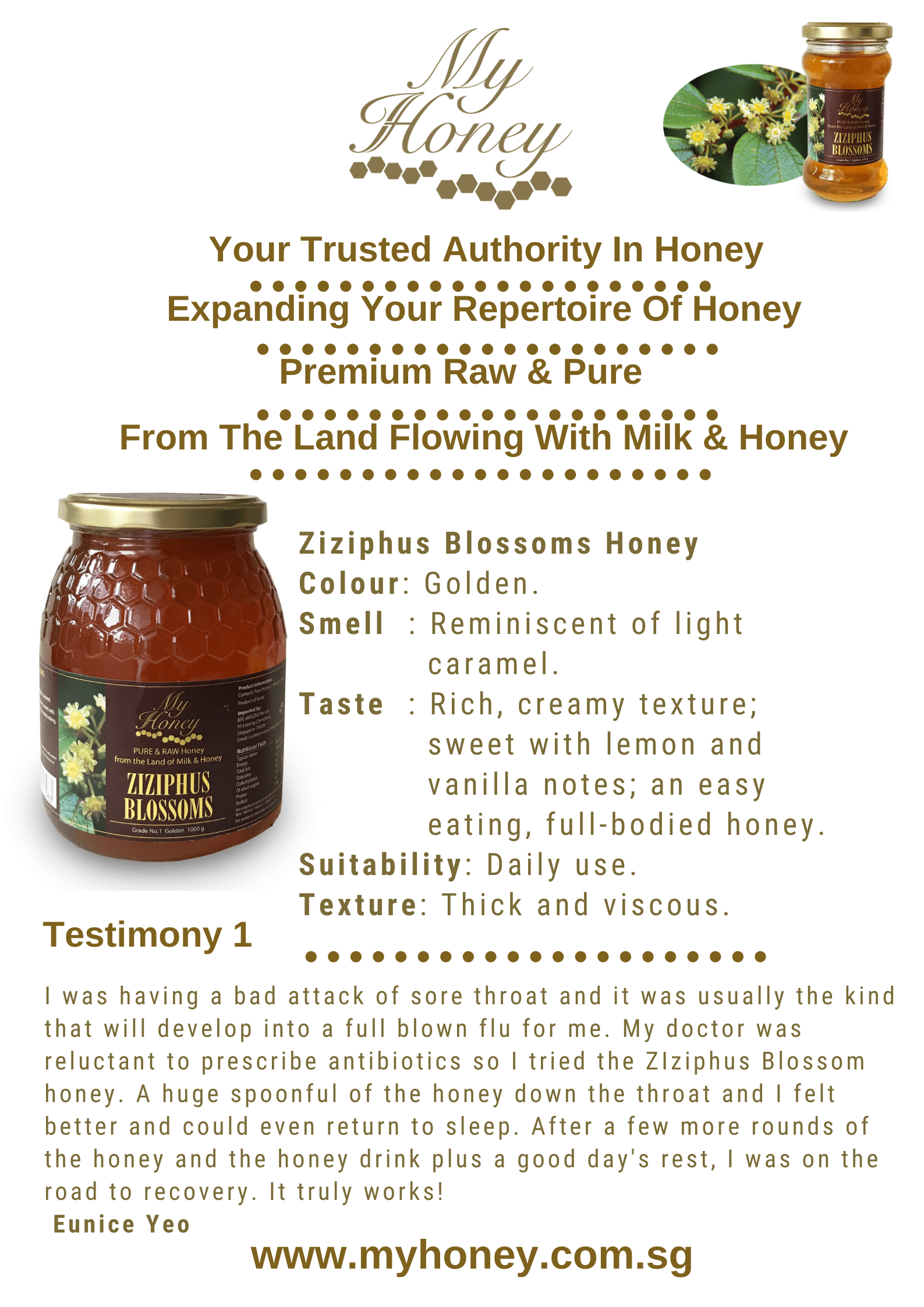 MyHoney Testimony